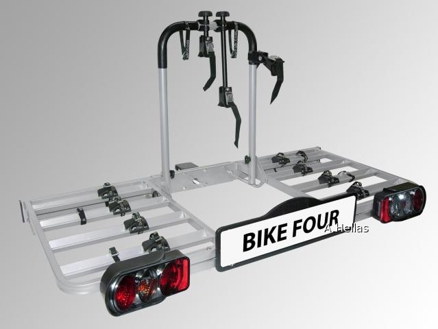 Σχάρα ποδηλάτου Bike Four για 4 ποδηλάτων